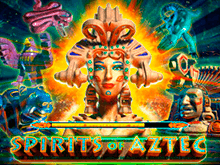 Игровой зал и автомат Дух Ацтеков